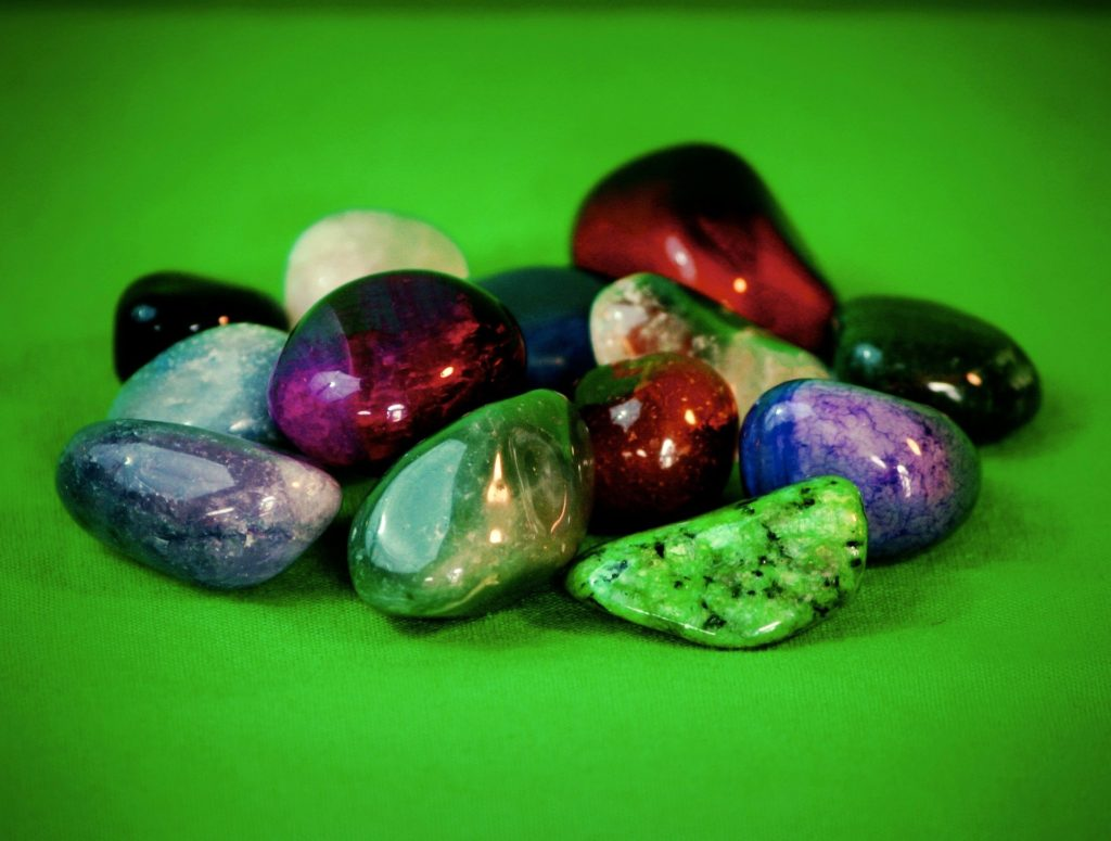 rouleau de jade quartz amétysthe